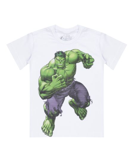 Camiseta Hulk Branca