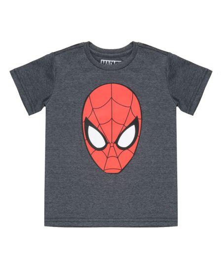Camiseta Homem Aranha Chumbo