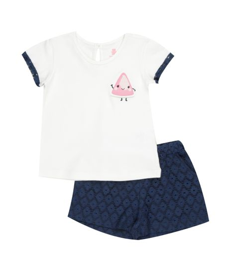 Conjunto-de-Blusa-Off-White---Short-em-Renda-Azul-Marinho-8357455-Azul_Marinho_1