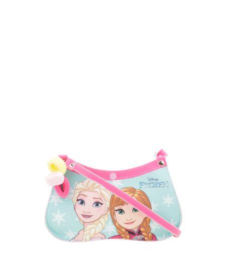 Bolsa Frozen + Elástico de Cabelo Rosa