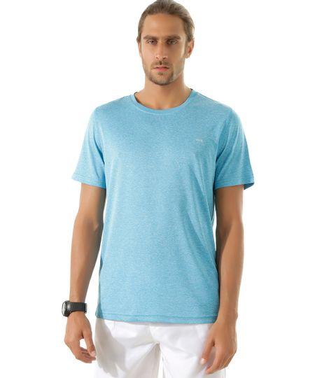 Camiseta Ace Basic Dry Azul Claro