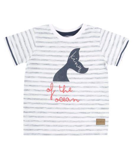 Camiseta Listrada