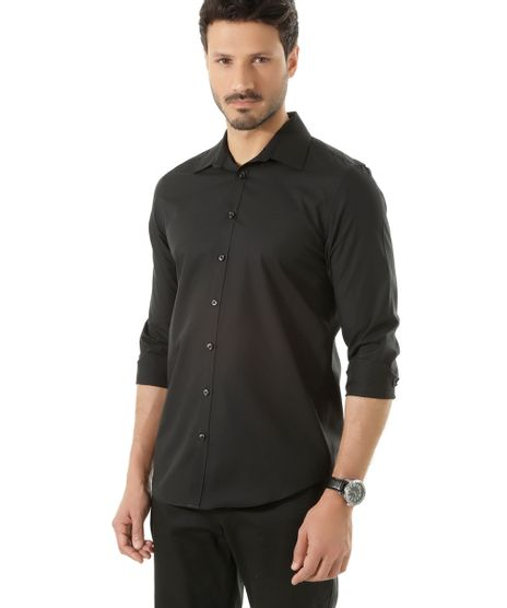 Camisa-Social-Slim-Preta-7683136-Preto_1