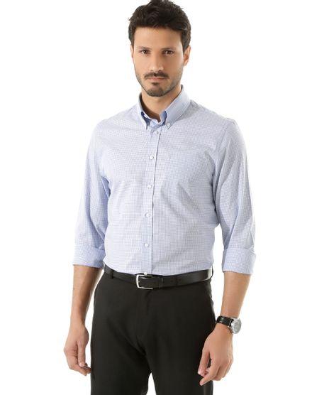 Camisa-Social-Comfort-Xadrez-Azul-8365332-Azul_1