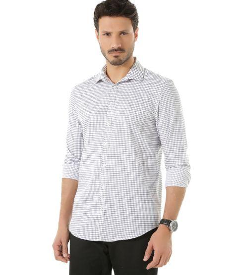 Camisa-Social-Slim-Xadrez-Branca-8365317-Branco_1