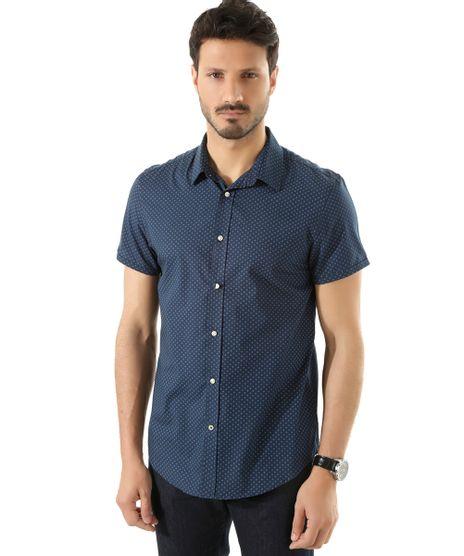 Camisa-Social-Slim-Estampada-Azul-Marinho-8389663-Azul_Marinho_1