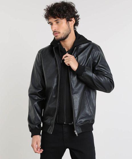 8bc1b5b99 Jaqueta De Couro Masculina em promoção - Compre Online - Melhores ...