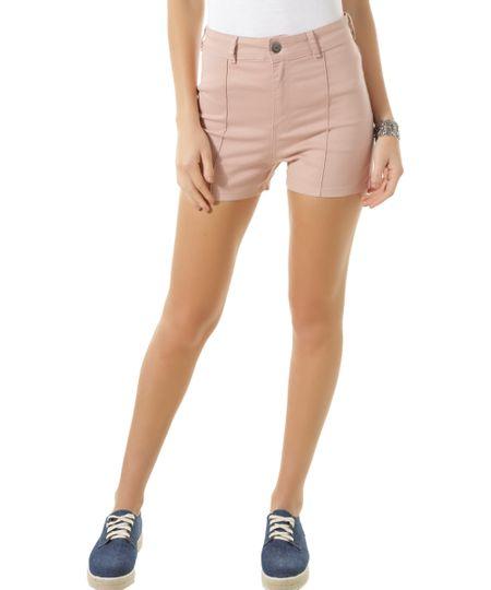 Short Hot Pant Rosa Claro