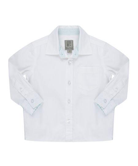Camisa com Bolso Branca