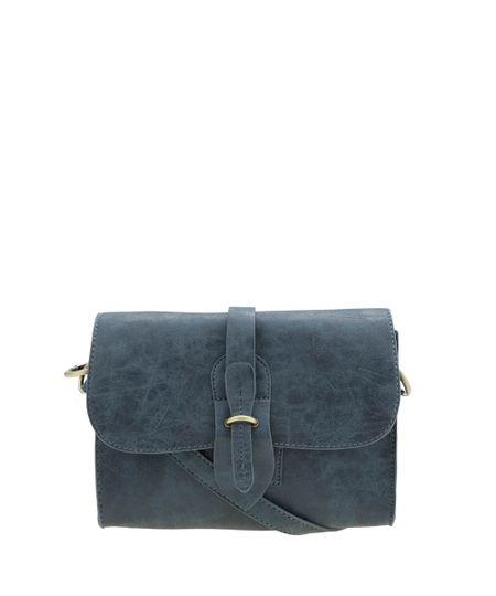 Bolsa Transversal Azul Escuro