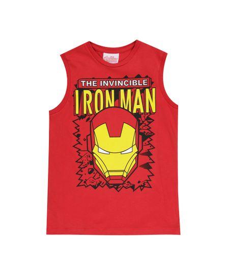 Regata Homem de Ferro Vermelha