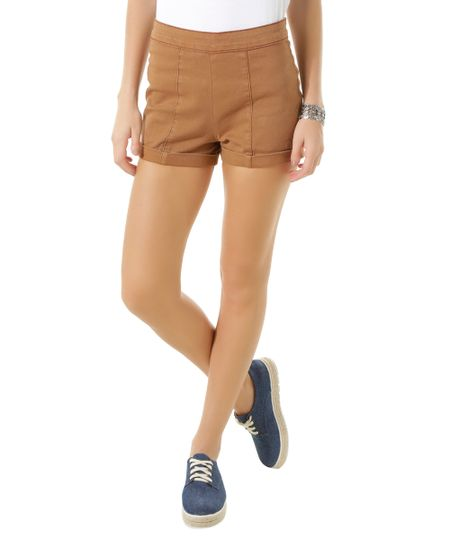 Short Hot Pant Caramelo