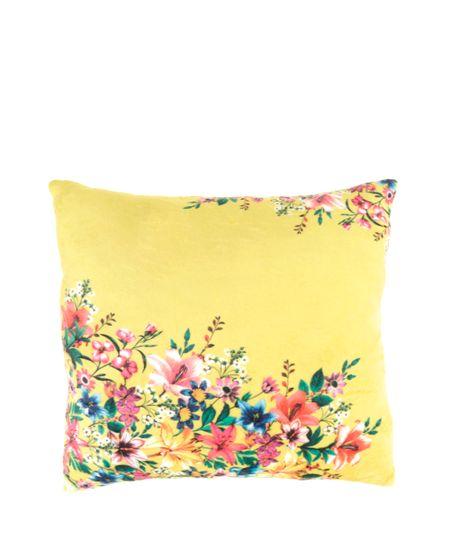 Almofada Estampada Primavera Dress To Amarela