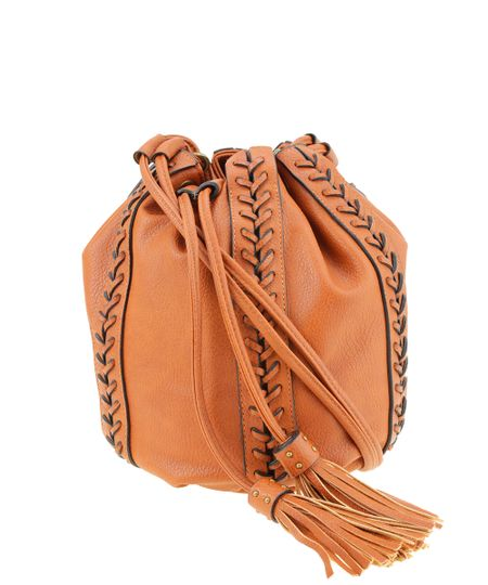 Bolsa Saco Dress To Caramelo