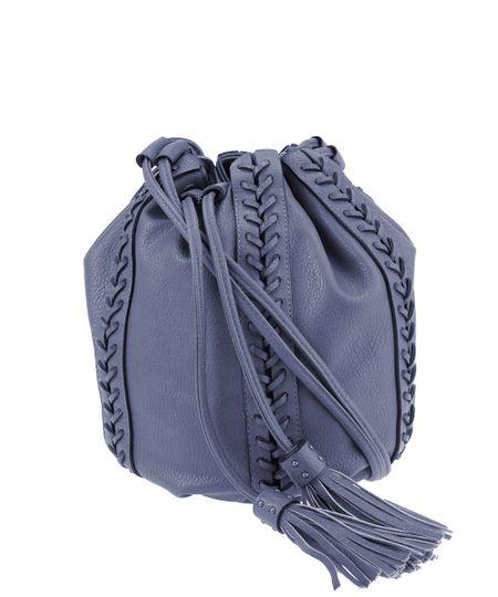 Bolsa Saco Dress To Azul Marinho