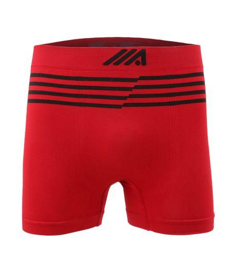 Cueca Boxer Sem Costura Ace Vermelha