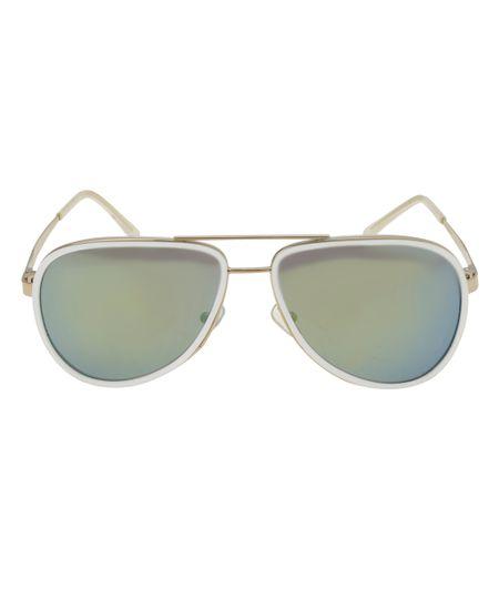 Óculos Aviador Oneself Dourado