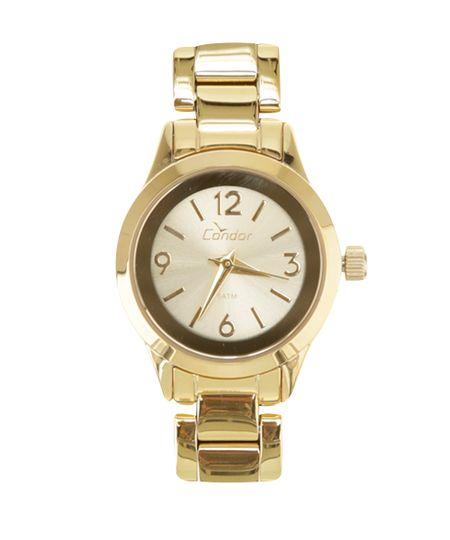 Relógio Condor Analógico Feminino - CO2035KKT/4X Dourado