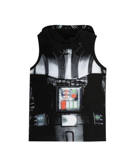 Regata Darth Vader com Capuz Preta