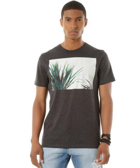 Camiseta--Folhagem--Cinza-Mescla-Escuro-8429937-Cinza_Mescla_Escuro_1