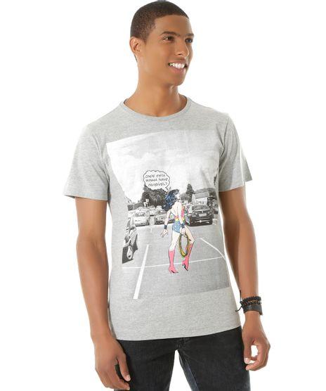 Camiseta-Mulher-Maravilha-Cinza-Mescla-8441950-Cinza_Mescla_1