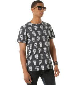 Camiseta-Estampada-de-Caveiras-Cinza-Mescla-Escuro-8450063-Cinza_Mescla_Escuro_1