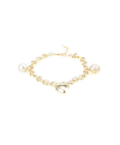 Pulseira-com-Pingentes-Dourada-8429106-Dourado_1