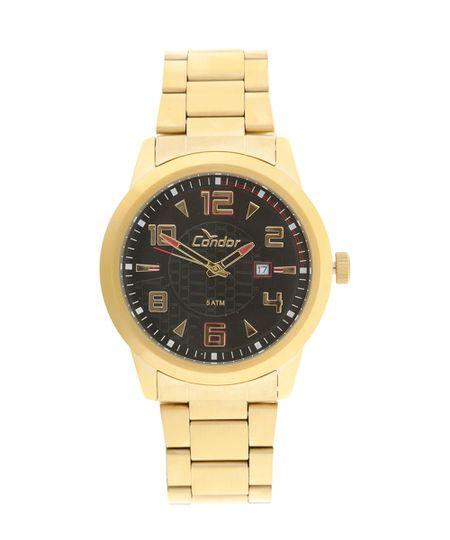 Relógio Analógico Condor Masculino - CO2115VZ/4P Dourado