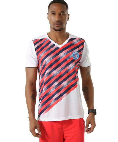 Camiseta Paris Saint Germain Branca