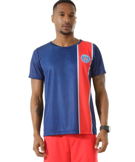 Camiseta Paris Saint Germain Azul Marinho