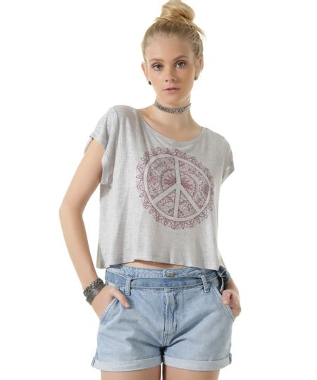 Blusa Cropped