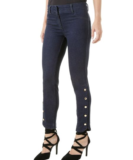 Calça Jeans Skinny Iódice Azul Escuro
