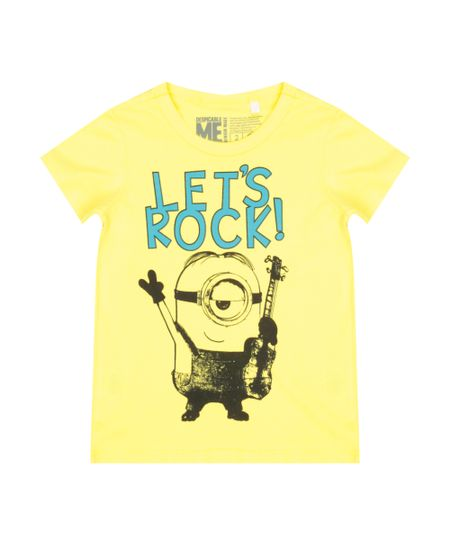 Camiseta Minions Amarela