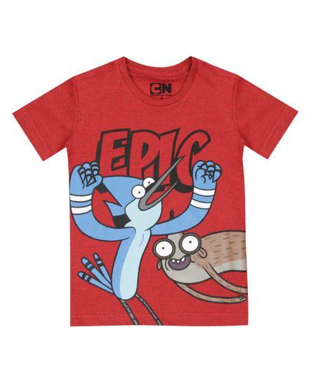 Camiseta Apenas Um Show Vermelha