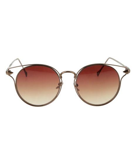 Oculos-Redondo-Feminino--Marrom-8524755-Marrom_1