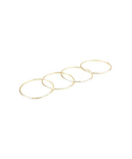 Kit-de-4-Pulseiras-Trabalhadas-Dourado-8404805-Dourado_1