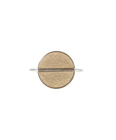 Bracelete Geométrico Prateado