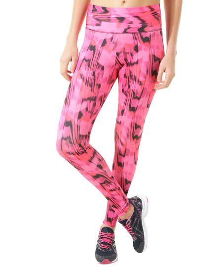 Calça Legging Ace Estampada Pink