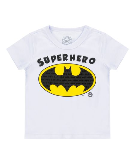 Camiseta Batman Branca