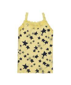 Regata-Canelada-Estampada-de-Estrelas-Amarela-8450398-Amarelo_1