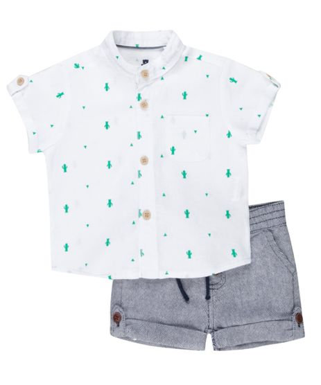 Conjunto-de-Camisa-Estampada-Off-White---Bermuda-Jeans-Azul-8341312-Azul_1