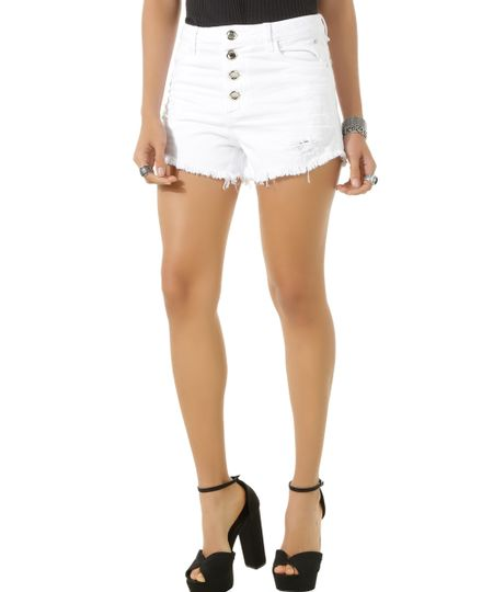 Short Hot Pant Sawary Branco