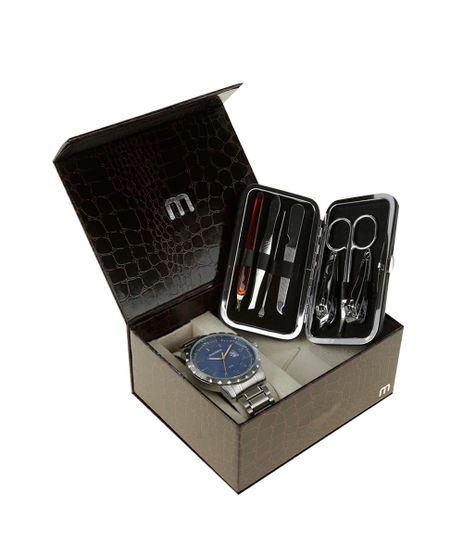 Kit-de-Relogio-Analogico-Mondaine-Masculino---Kit-de-Unha---94951G0MKNE1K1-Prateado-8508232-Prateado_1