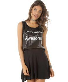Regata-de-Paete--Don-t-Forget-Be-Awesome--Preta-8467311-Preto_1
