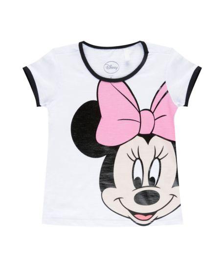 Blusa Minnie Branca