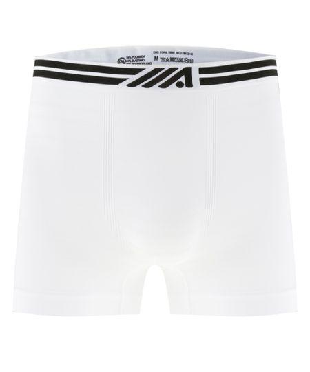 Cueca Boxer Ace Sem Costura Branca
