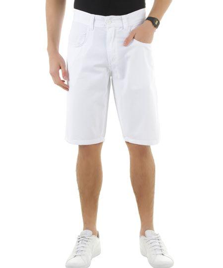 Bermuda Slim Branca