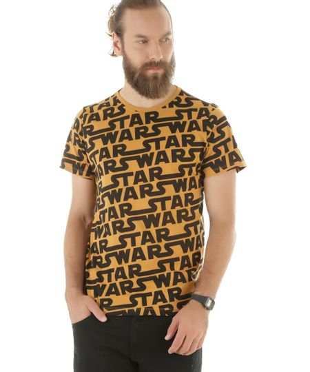 Camiseta Star Wars Caramelo