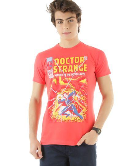 Camiseta Doutor Estranho Vermelha