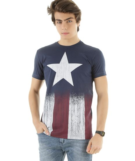 Camiseta-Capitao-America-Azul-8335901-Azul_1